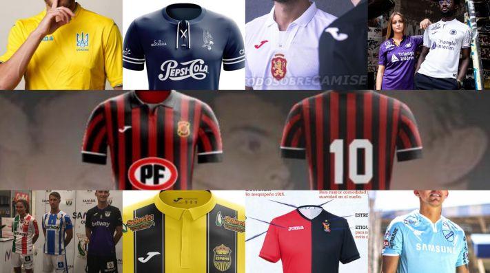 Muchos son los clubes que vestirán Joma este 2019. (Todo Sobre Camisetas) 33dba0b6fd9c0