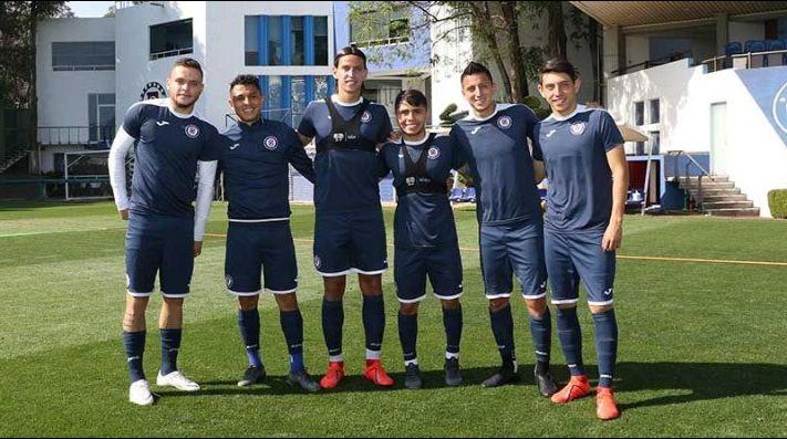 369bbb8d906 Los seis jugadores convocados por sus selecciones. (Foto  Cruz Azul)