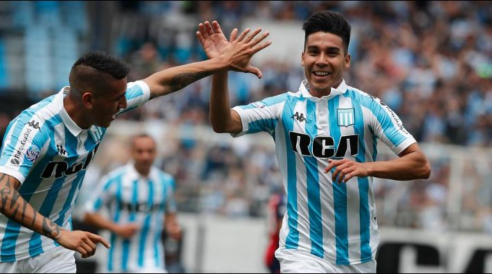 Guillermo Fernández en Racing Club.