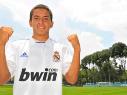 Diego Martínez con el Real Madrid
