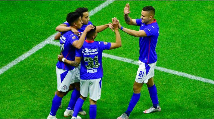 Cruz Azul derrotó por 3-2 al Toluca.
