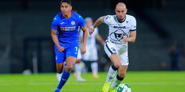 Cruz Azul vs. Pumas UNAM EN VIVO: transmisión minuto a minuto por la jornada 10 de la Liga MX