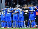 Cruz Azul en el partido ante el Querétaro